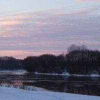 Розовый вечер над Москвой рекой :: Иришка ***