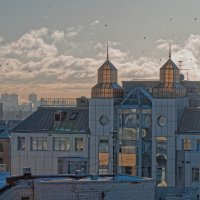 "Вид на БЦ ""Лиговский проспект"" с крыши лофт проект этажи :: Даниил pri (DAROF@P) pri"