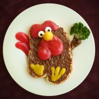 Веселый бутербродик для нехАААчушки и хАААчушки. :: Лара Гамильтон