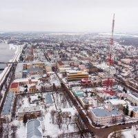 Великий Новгород в зимнее время :: Павел Москалёв