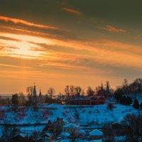 Закат в январе, вариация :: Dimirtyi