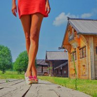 Прогулка по Семенкову :: Валерий Талашов