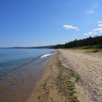 Песчаные пляжи Байкала :: Евгений Карский