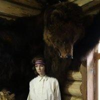 Музейный медведь :: Валерий Чепкасов