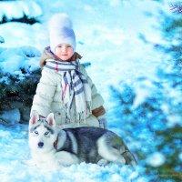 Волшебная зима :: Татьяна Пожидаева
