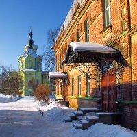 Рязань.Старообрядческая кладбищенская церковь.1900 г. :: Лесо-Вед (Баранов)