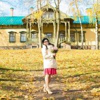Осенние свадьбы привлекают своими золотыми оттенками :: Екатерина Гриб