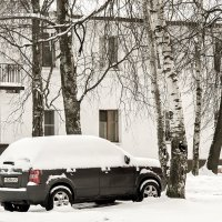 Зимние зарисовки. :: Александр Кемпанен