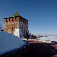морозное утро на Волге :: Наталья Сазонова