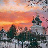 Январь. Никольская церковь г. Пушкино :: ALISA LISA