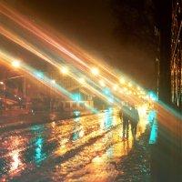 Вечерний Донецк под дождём :: Сергей Дубовик