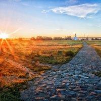 Дорога к храму :: Александр Шамардин