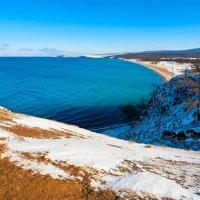 Пляж села Хужир :: Анатолий Иргл