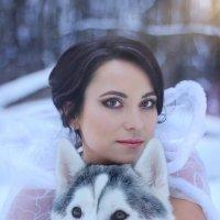 снежная сказка :: Алёна Горбылёва