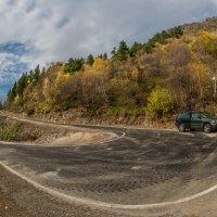 Дорога в Тебердинском заповеднике,но попасть на неё очень сложно!!! :: Аnatoly Gaponenko