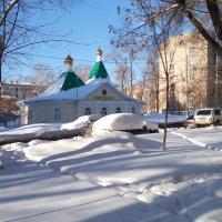 Храм во имя Святителя Луки Крымского :: Александр Алексеев