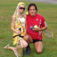 Дамский теннис и мода! Заури Абуладзе :: Заури Абуладзе