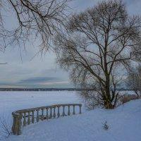 Балкон с видом на февраль. :: Михаил (Skipper A.M.)