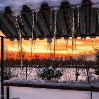 Февральский закат :: Наталия Горюнова