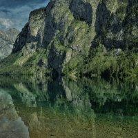 Баденское озеро, на карте Германии. :: Валентина Потулова