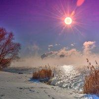 Хорошая у нас зима, ныне! :: Виктор Малород