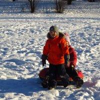 Продолжение зимних радостей :: Андрей Лукьянов