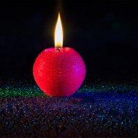 Пламя свечи :: Вера Бережная