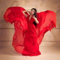 Красный цветок :: Олег HoneyPhoto