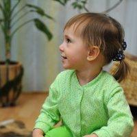 Очередной фотосет внучки :: Александр Шарапов
