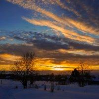 Зимний закат :: Анатолий