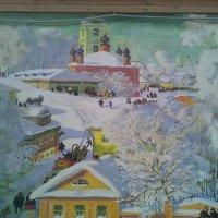 Настенная живопись на старинном доме :: Tarka