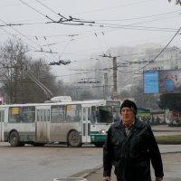 Город накрывает туманом :: Александр Рыжов