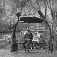 Двое под зонтом :: Татьяна Панчешная