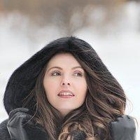 Зимний морозный день. :: Сергей Гутерман