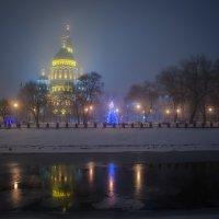 Рождественский туман :: Лидия Цапко