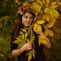 Осенний цветок :: Кира