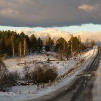 Дорога в облака :: Лариса Березуцкая