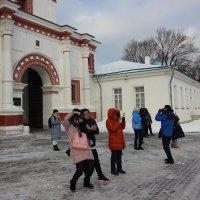 Китайским  туристам  мороз  не страшен ! :: Виталий Селиванов