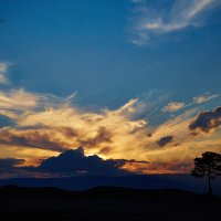 Закат на Ольхоне :: MarinaZi .