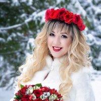 Яркая невеста :: Ольга Гребенникова