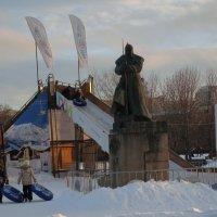 Ох рано встает охрана :: marmorozov Морозова
