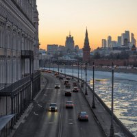 Закат - это лишь черта за грань ночной жизни. :: Сергей Федоткин