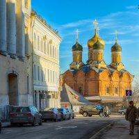 Москва. Храм на Варварке. :: В и т а л и й .... Л а б з о'в