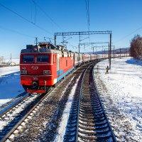 Скорый поезд №1 Владивосток - Москва :: Алексей Белик