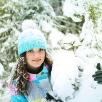 Сказочный и красивый зимний лес :: Екатерина Гриб