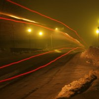дорога в туман :: Александр Иванов