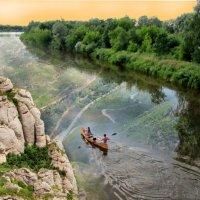 Вниз по реке :: Александр Михайлов