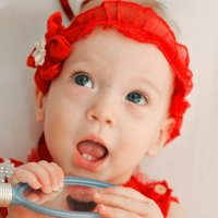 Маша 9 месяцев) :: Любовь