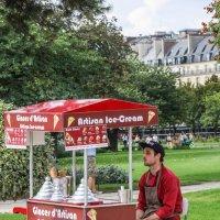 Продавец мороженого. Париж :: Владимир Леликов