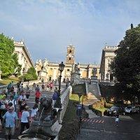 Туристы  захватили  Рим без  боя . :: Виталий Селиванов